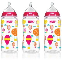 Nuk Hot Air Balloons Orthodontic Bottle For Girls, 10 Oz, BPA-Free - Walmart.com