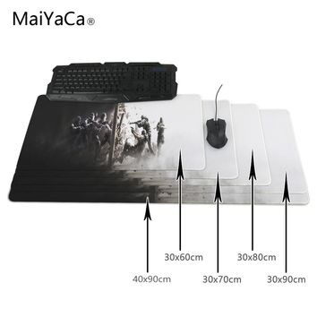 MaiYaCa Rainbow Six Siege Teams 400x900x2mm Breach Anti-slip Mouse Pad Gamer Large Professional Gaming Mousepad Grande Keyboard