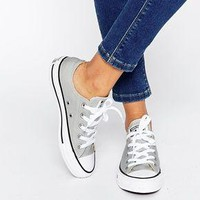 """""""Converse"""" Fashion Canvas Flats Sneakers Sport Shoes gray"""