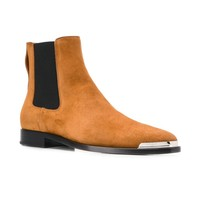 Calf Suede Metal Tip Chelsea Boots by Givenchy