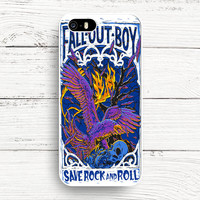 iPhone 4s 5s 5c 6s Cases, Samsung Galaxy Case, iPod Touch 4 5 6 case, HTC One case, Sony Xperia case, LG case, Nexus case, iPad case, Fall Out Boy save rock and roll art Cases