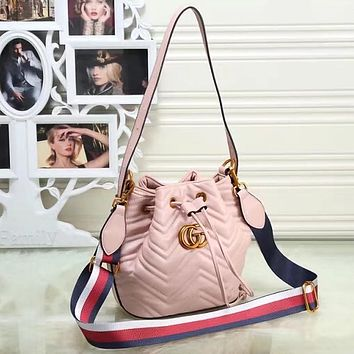 GUCCI Women Fashion Crossbody Shoulder Bag Satchel