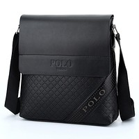 POLO Retro Men Business Shoulder Bag Casual Laptop bag