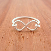 Infinity Ring, Antique White
