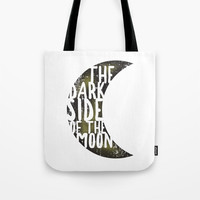 Floyd Pink - the dark side of the moon Tote Bag by g-man