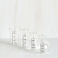 Nifty Nerd Chem With Me Shot Glass Set by ModCloth