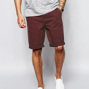 ASOS | ASOS Chino Shorts In Longer Length at ASOS