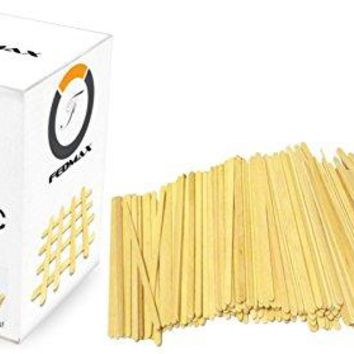 Coffee Stirrer Sticks 1000pc 55 Inches 100 White Birch Wood Great for Mixing Coffee and other Drinks and Beverages FDA Approved and Made in the USA by Fedmax