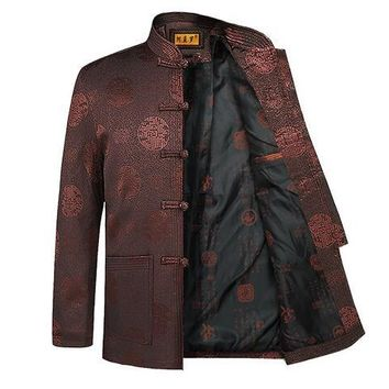chinese style man jacket Typical fsashion customized men outerwear HY004
