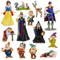 Disney Snow White and the Seven Dwarfs Figure Deluxe Play Set | Disney Store