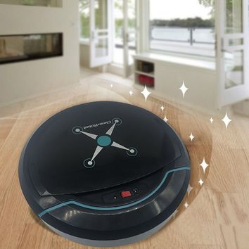 Rechargeable Smart Robot Vacuum Cleaner Dry Wet Sweeping Cordless Auto Dust Sweeper Machine