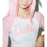 24HRS X Dolls Kill Daddy Baseball Tee | Dolls Kill