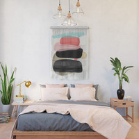 Modern minimal forms 1 Wall Hanging by naturalcolors
