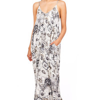 Floral Valley Maxi Dress
