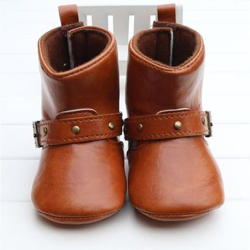 Classic Style Soft Baby Boots