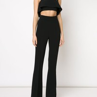 Cushnie Et Ochs Ruffled Strappy Crop Top - Fivestory - Farfetch.com