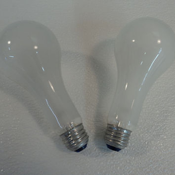 Westinghouse 150 Watt Incandescent Lamp Bulb 2 Pack Frost A20 Series HO-A232 -- New
