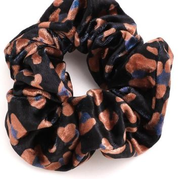 Black Multi Scrunchie
