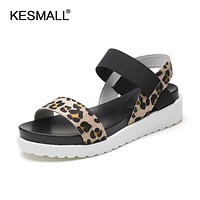 Summer Shoes Sandals Women Peep-Toe Flat Shoes Roman Sandals Women Shoes