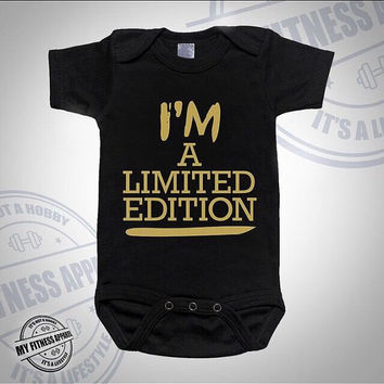 Baby Onesuit | Funny Baby Onesuit | I'm A Limited Edition | Cute Onesuit | Unisex Baby Onesuit | Baby Gift | Baby Bodysuit | Custom Onesuit
