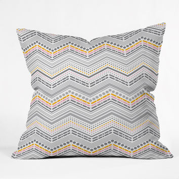 Heather Dutton Dash And Dot Neapolitan Outdoor Throw Pillow