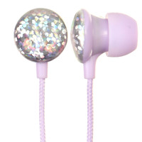 DISCO LILAC EAR BUDDIES