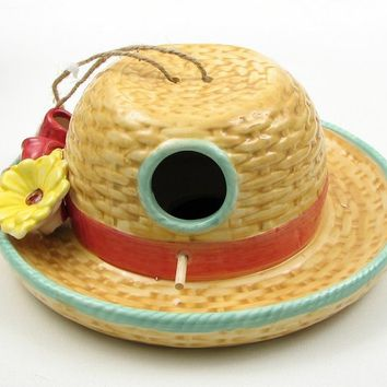 Hat Birdhouse