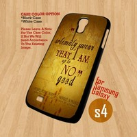 I Solemnly Swear - For Samsung Galaxy S4 i9500 Case Cover