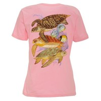 Guy Harvey Women's Cayman Turtle Reef T-shirt