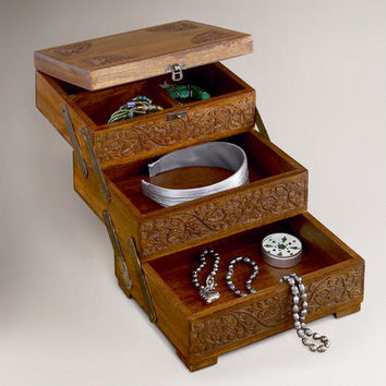 World Market Jewelry Box