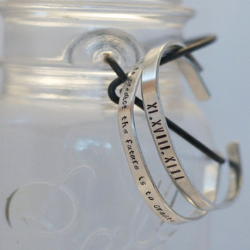 Personalized Bangle, coordinates jewelry, customized bracelet