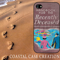 Beetle Juice Recently Deceased Handbook Plastic or Rubber iPhone 4 and 5 Case Trendy Design