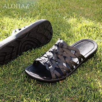 black tia™ - pali hawaii sandals