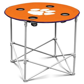 Clemson Tigers NCAA Round Table (30in)