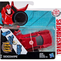 Transformers Robots In Disguise Hyper Change Heroes Sideswipe