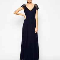 Elise Ryan Off Shoulder Maxi Dress