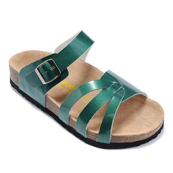 Birkenstock Women Fashion Buckle Sandals Slipper Shoes
