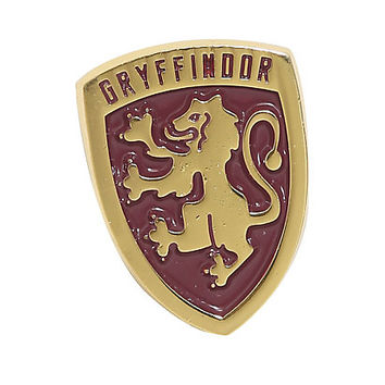 Harry Potter Gryffindor Crest Enamel Pin