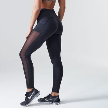 DRY Sculpture Cropped Leggings | Cropped Tights | Black | Gymshark