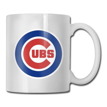Chicago Cute Cubs coffee mug warmer men tazas ceramic tumbler caneca tea Cups