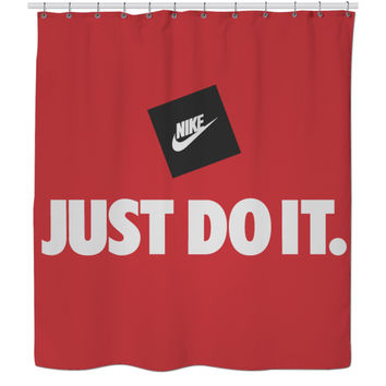 NIKE SHOWER CURTAIN