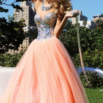 2015 New Sweetheart Bead Pageant Dress Party Evening Ball Prom Gown