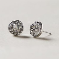Deco Disc Posts by Anthropologie Silver One Size Earrings