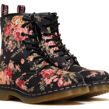 dr. martens 1460 victorian flower boot R11821016 | gravitypope