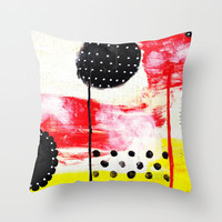 001 Throw Pillow - Modern Art Pillow - Modern Decor - Throw Pillow - Hipster Decor - Urban Decor - by Beverly LeFevre