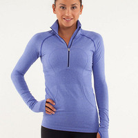 run: swiftly tech 1/2 zip | lululemon athletica