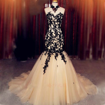 Sweetheart Mermaid Prom Dress,Prom Dress,Long Evening Dresses