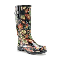 Nomad Puddles Indo Floral Rain Boot
