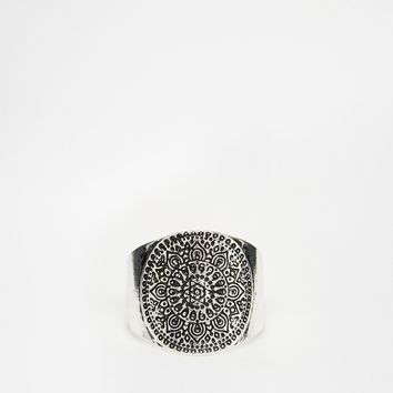 ASOS Etched Festival Ring