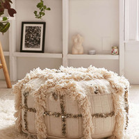 Moroccan Coin Pillow Pouf - Urban Outfitters